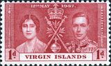 British Virgin Islands 1937 George VI Coronation a