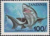 Tanzania 1993 Sharks e