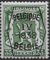 Belgium 1938 Coat of Arms - Precancel (4th Group) e.jpg