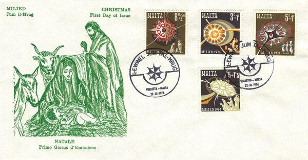 Malta 1974 Christmas h