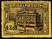 Portugal 1927 Red Cross - 400th Birth Anniversary of Camões e