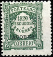 Azores 1922 Postage Due Stamps of Portugal Overprinted (1st Group) g.jpg
