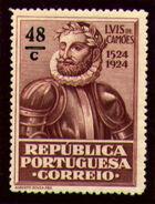 Portugal 1924 400th Birth Anniversary of Camões o