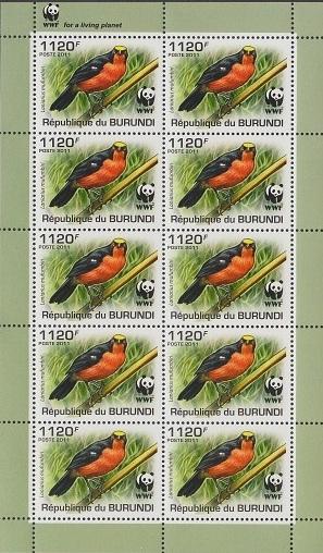 Burundi 2011 WWF Papyrus Gonolek h