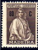 Madeira 1929 Ceres (London Issue) m