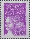 France 2002 Definitive Issue - Marianne de Luquet c
