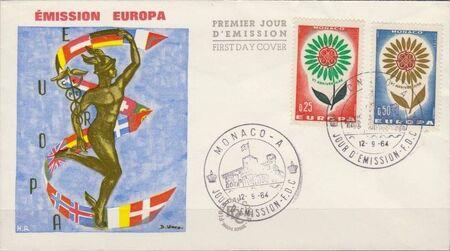 Monaco 1964 Europa j