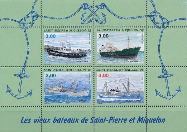 St Pierre et Miquelon 1996 Old ships of St Pierre et Miquelon f