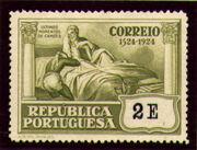 Portugal 1924 400th Birth Anniversary of Camões y