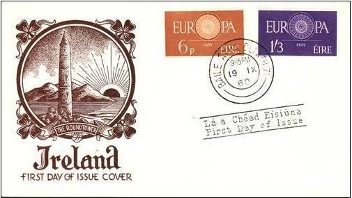 Ireland 1960 Europa-CEPT c