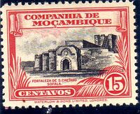 Mozambique company 1937 Assorted designs d