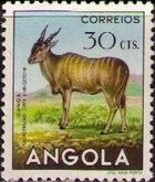 Angola 1953 Animals from Angola d
