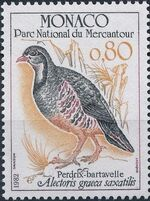 Monaco 1982 Birds from Mercantour National Park c