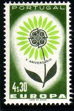 Portugal 1964 Europa c