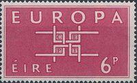Ireland 1963 Europa a