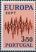 Portugal 1972 Europa b
