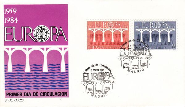 Spain 1984 Europa f