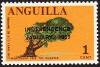 Anguilla 1969 Independence a