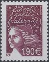France 2003 Definitive Issue - Marianne de Luquet f