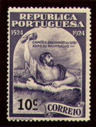 Portugal 1924 400th Birth Anniversary of Camões g