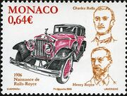 Monaco 2006 Centenary of the creation of the Rolls Royce a