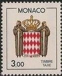 Monaco 1985 National Coat of Arms - Postage Due Stamps (1st Group) g