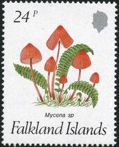 Falkland Islands 1987 Mushrooms b