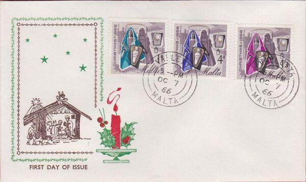 Malta 1966 Christmas g