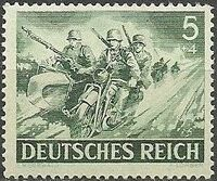 Germany-Third Reich 1943 Armed Forces and Heroes Day b