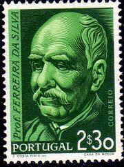 Portugal 1956 Birth Centenary of Ferreira da Silva b