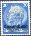 German Occupation-Luxembourg 1940 Stamps of Germany (1933-1936) Overprinted in Black i.jpg