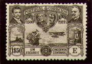 Portugal 1923 First flight Lisbon Brazil 0