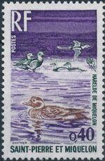 St Pierre et Miquelon 1973 Birds d