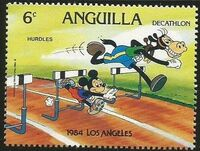 Anguilla 1984 Olympic Games Los Angeles f