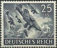 Germany-Third Reich 1943 Armed Forces and Heroes Day i