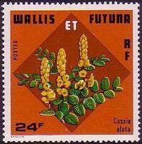 Wallis and Futuna 1978 Flowers b