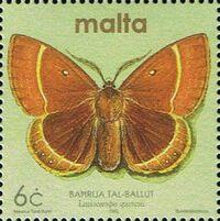 Malta 2002 Butterflies and Moths k