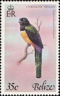 Belize 1978 Birds of Belize (2nd Issue) d