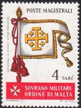 Sovereign Military Order of Malta 1967 Flags of Ancient Languages and from Order h