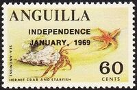 Anguilla 1969 Independence l