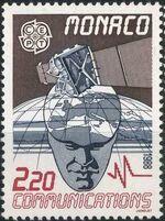 Monaco 1988 EUROPA - Transport and Communications a