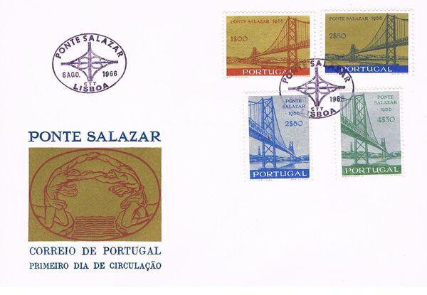 Portugal 1966 Inauguration of Salazar Bridge e