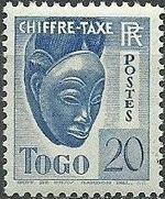 Togo 1941 Postage Due d