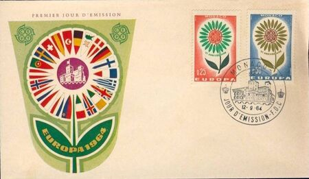 Monaco 1964 Europa d