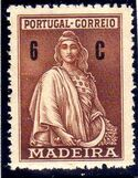 Madeira 1929 Ceres (London Issue) d