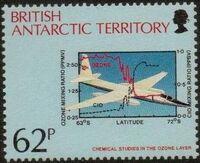 British Antarctic Territory 1991 Antarctic Ozone Hole d