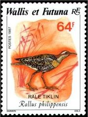 Wallis and Futuna 1987 Birds e