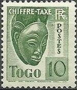 Togo 1941 Postage Due b