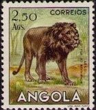 Angola 1953 Animals from Angola k
