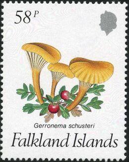 Falkland Islands 1987 Mushrooms d